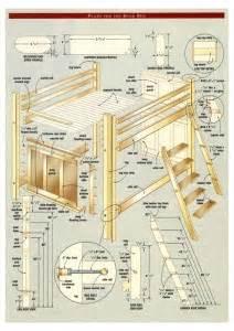 Loft Beds Build Your Own Plans Woodwork Build Your Own Loft Bed Free Plans Pdf Plans