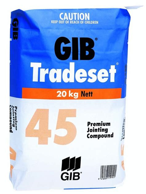 themes vienna ltd co kg gib tradeset 45 20kg setting compounds drywall