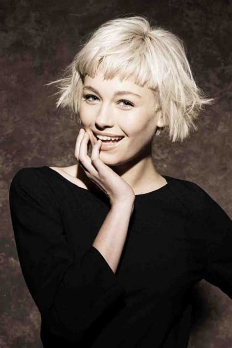 triangle one length bob with short cropped bob hairstyles bob hairstyles 2017 short