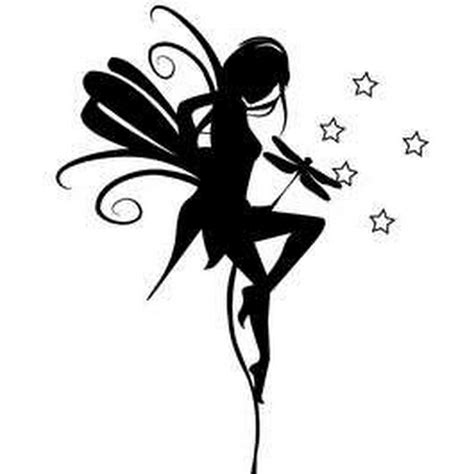 fairy silhouette tattoo designs 55 silhouette tattoos collection
