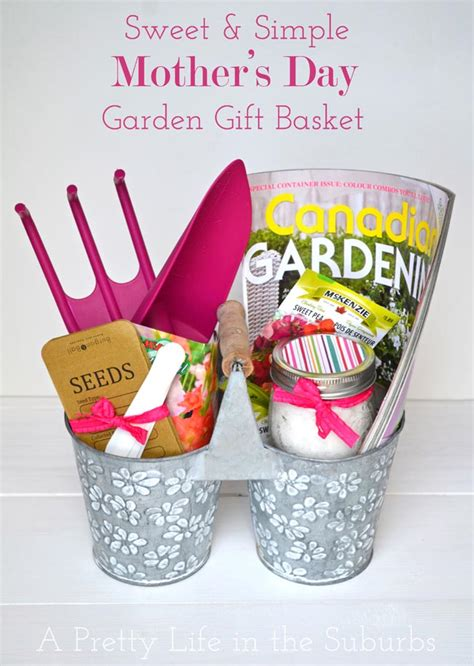 Gardening S Day Gifts Sweet Simple S Day Garden Gift Basket A Pretty