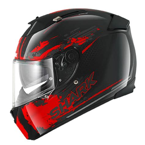 Helm Shark shark helm speed r mxv duke schwarz rot integral helm