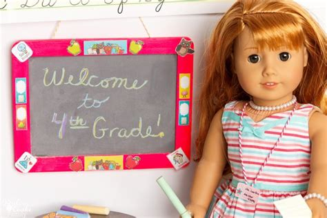 american doll paper crafts diy back to school american doll crafts