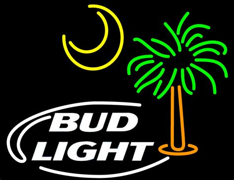 Bud Light Neon Sign by Bud Light Palm Tree With Sun Neon Sign Bud Light Neon