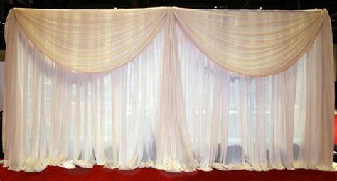 wall drapes for weddings aluminum wedding wall drapery stand aluminum curtain poles
