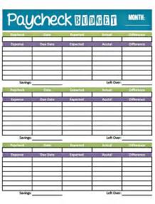 paycheck budget template bonfires and wine livin paycheck to paycheck free
