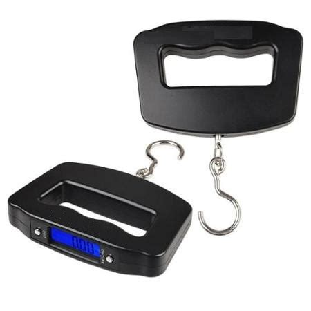 Timbangan Bagasi Digital Electronic Travel Luggage Scale 50kg Wh A20 timbangan koper bagasi digital electronic luggage scale travel weight elevenia