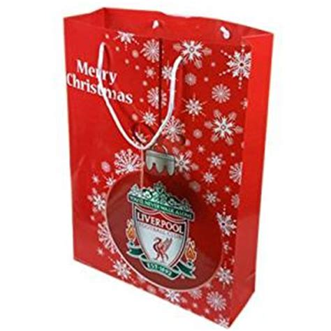liverpool fc christmas gift bag large football gifts