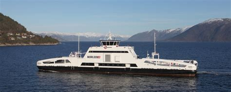 worlds  fully electric ship wins eco award air