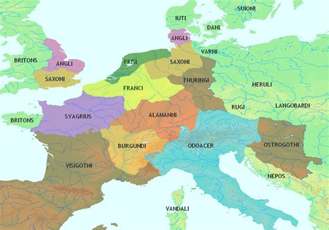europe 15th century map detailed map of the empire in the year 211 ce