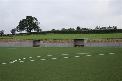 Amel Vb voetbalterrein amel vb beton