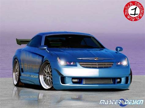 slammed chrysler crossfire possible manufacturing of crossfire carbon fiber parts