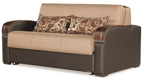 Sofa Plus Bed sleep plus sofa bed in brown fabric by casamode w options