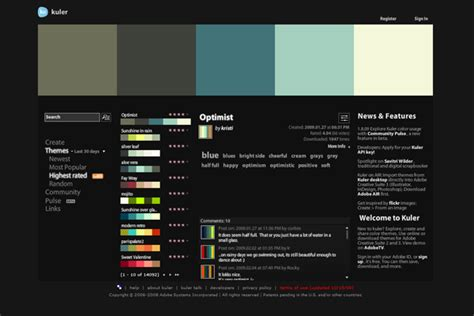 color themes kuler using adobe kuler to enhance your photoshop color workflow