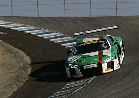 Audi Werkswagen by Laguna Seca 8 Audi Startet Mit Drei Werkswagen
