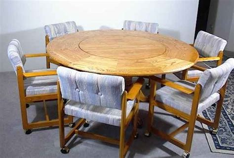 kitchen table with lazy susan table with built in lazy susan kitchen and dining room