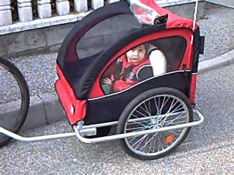carrello porta per bicicletta carrello porta bimbo per bicicletta 13apr10 avi