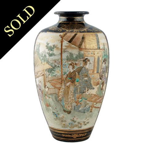 Satsuma Vase by Antique Satsuma Vase Antique Japanese Vase Japanese