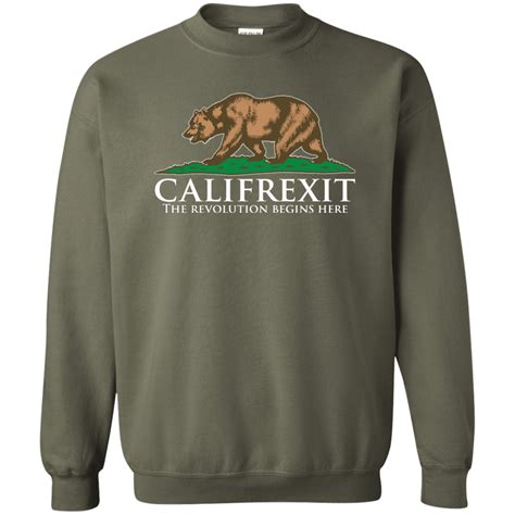 T Shirt Pullover Sweatshirt califrexit pullover sweatshirt 8 oz the wholesale t shirts