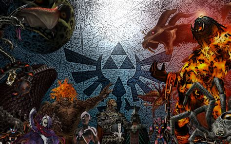 legend of zelda map bosses my top 10 legend of zelda bosses ocarina of time nerd