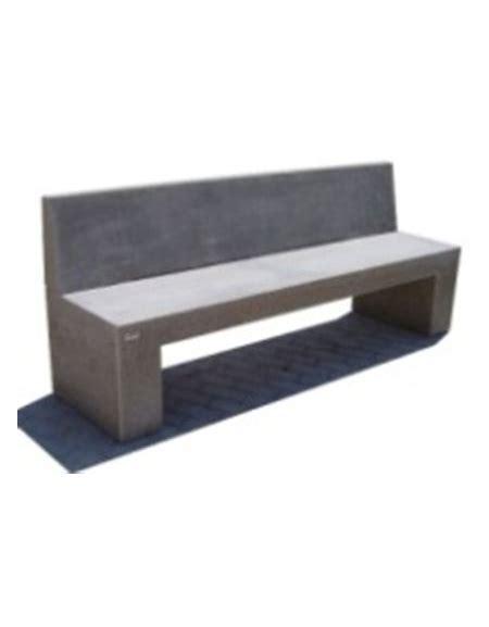 panchina in pietra panchina rettangolare monoblocco in calcestruzzo bianco
