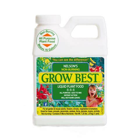 best flower food grow best 1 pint liquid plant food 100083295 the home depot