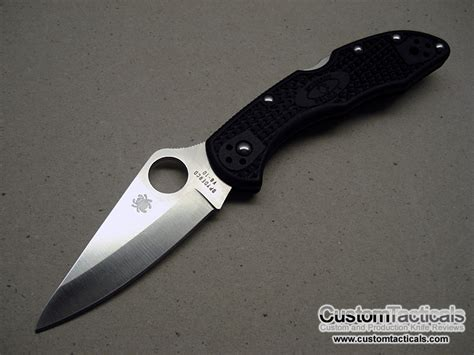 spyderco knives spyderco delica 4 c11 folding knife knife reviews