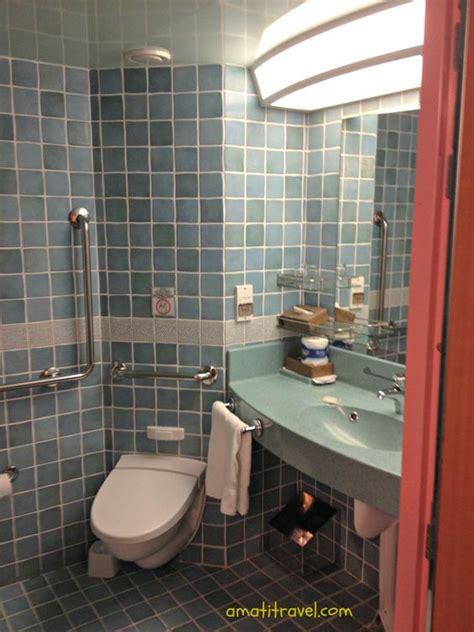 cruising bathroom accessible bathroom carnival glory cruising travel