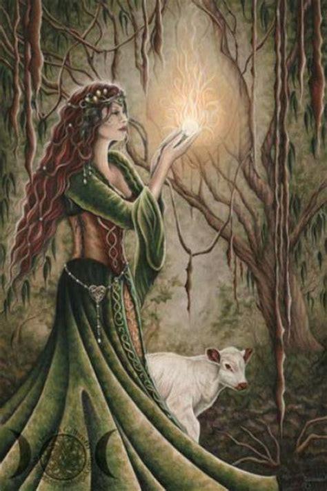 fairy magyk ecards jessica galbreth brighid