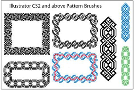pattern border illustrator a huge compilation of 60 free illustrator brushes