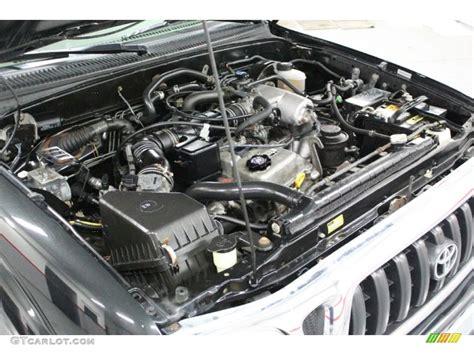 Toyota 4 Cylinder Engines 2004 Toyota Tacoma Sr5 Xtracab 4x4 2 7l Dohc 16v 4