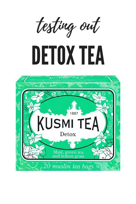 What Teas Act As A Detox by Kusmi Detox Tea Sipping My Way To A Healthier