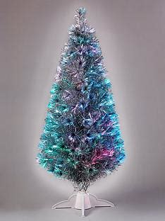 fibre optic christmas tree silver trees traditional trees littlewoods