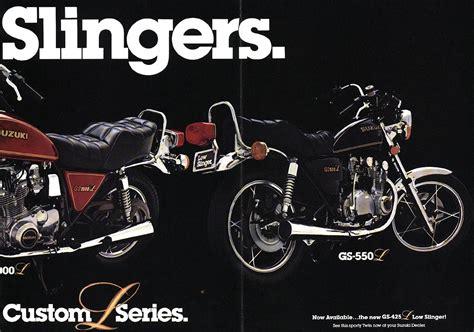 1980 suzuki gs750l suzuki gs750l brochures