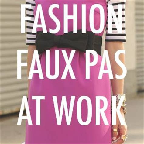 7 Fashion Faux Pas To Avoid by 7 Fashion Faux Pas Tips Tip Junkie