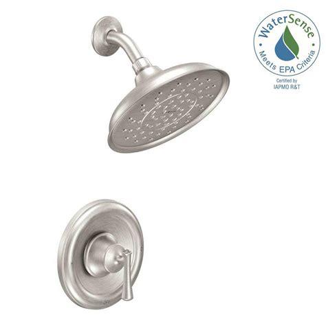 moen ashville bathroom faucet moen ashville single handle 1 spray shower faucet with