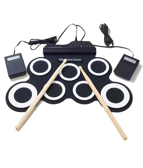 Usb Roll Up Drum Kit portable roll up drums