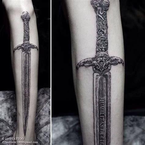 25 best ideas about sword tattoo on pinterest tolkien