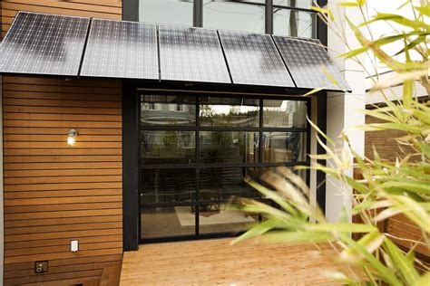 solar panels get stylish home solar panels