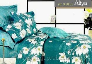 Bed Cover Katun Jepang Uk 180 160 sprei aliya tosca uk 180 t 25cm warungsprei