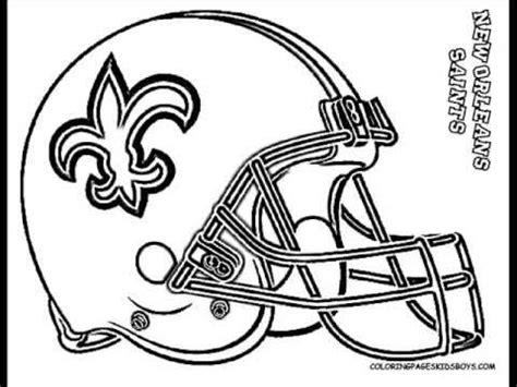 ColoringBuddyMike: NFL Football Helmet Coloring   YouTube