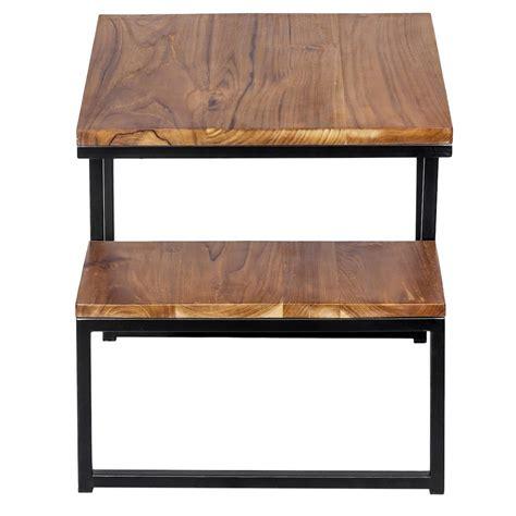 jual tembelan meja kayu jati besi desain industrial modern rumah kafe limited lapak anafi amazing anafiamazing