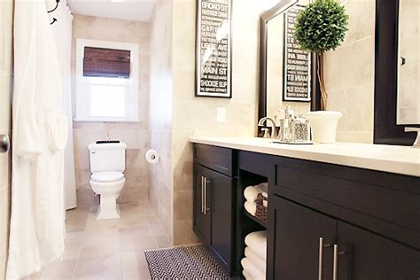 Hall Bathroom Ideas by Before And After Hall Bathroom Renovation