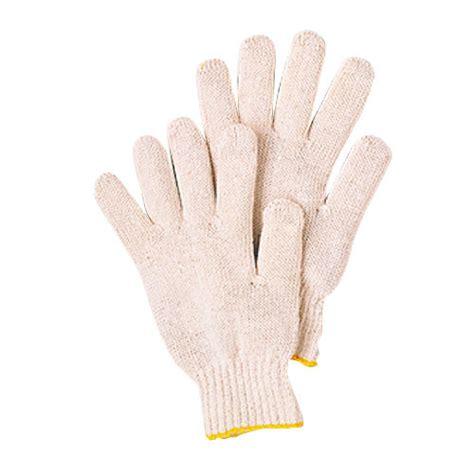 white knit gloves white heavy duty knit wrist glove 1 per