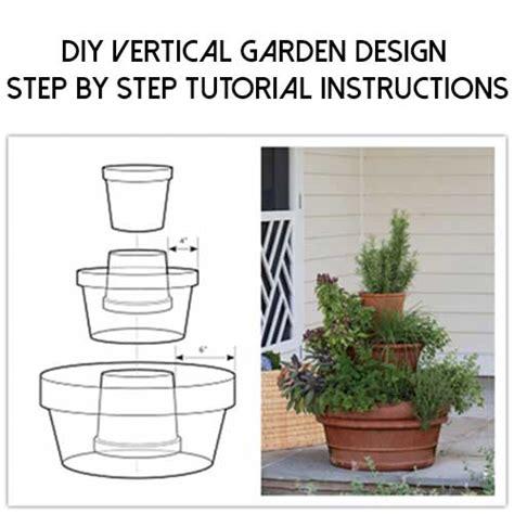 diy vertical garden design step by step tutorial instructions shtf prepping central
