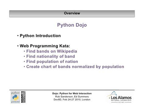 Tutorial Python Web | python web tutorial