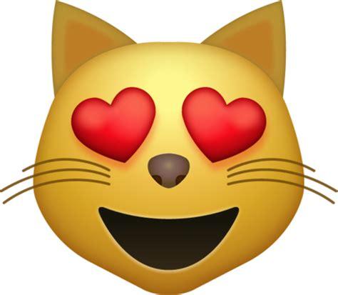 heart eyes cat iphone emoji icon  jpg  ai