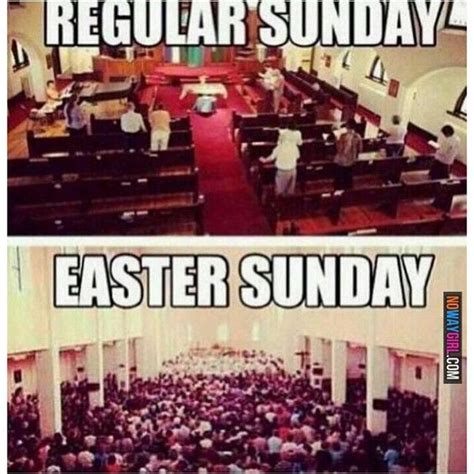 Religious Easter Memes - easter sunday humor pictures photos and images for
