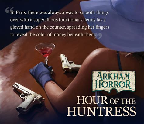 Magic Hour Ley In The arkham horror hour of the huntress