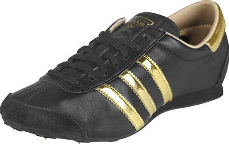 gold adidas sneakers adidas aditrack w shoes black gold